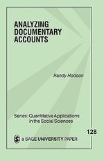Analyzing Documentary Accounts - Randy Dale Hodson
