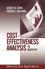 Cost-effectiveness Analysis : Methods and Applications - Henry M. Levin