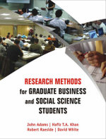 Research Methods for Graduate Business and Social Science Students - John Adams