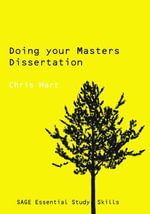 Doing Your Masters Dissertation - Chris Hart