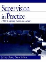 Supervision in Practice : Three Steps to Improving Teaching and Learning - Jeffrey Glanz and Susan Sullivan