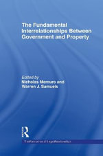 The Fundamental Interrelationships between Government and Property : Specification and Evaluation