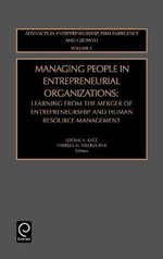 Managing People in Entrepreneurial Organizations: v. 5 : Learning from the Merger of Entrepreneurship and Human Resource Management
