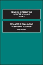 Advances in Accounting Behavioral Research : Vol. 7