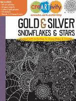 Creartivity : Gold & Silver Snowflakes & Stars