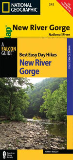 Best Easy Day Hiking Guide and Trail Map Bundle : New River Gorge - Johnny Molloy