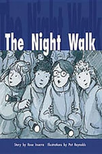 Rigby PM Collection Gold : Student Reader Night Walk, the - Rose Inserra