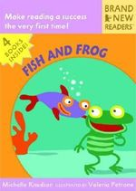 Fish and Frog Slipcase :  Brand New Readers - Michelle Knudsen