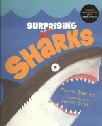 Surprising Sharks [With Read-Along CD] - Nicola Davies