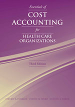 Essentials of Cost Accounting Hlth - Steven A. Finkler
