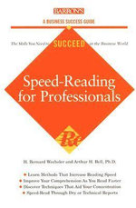 Speed Reading for Professionals : To Market, to Market - Bernard Wechsler