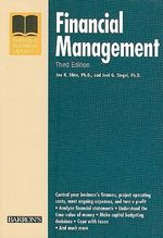 Financial Management : Barron's Financial Management - Dr. Jae K. Shim