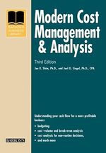 Modern Cost Management and Analysis - Dr. Jae K. Shim