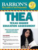 Barron's THEA : The Texas Higher Education Assessment - Sharon McCune