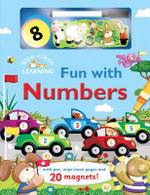 Fun with Numbers : With Pen, Wipe-Clean Pages, and 20 Magnets! - Brenda Apsley