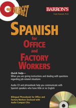 On Target : Spanish for Office and Factory Workers [With Paperback Phrasebook] - Frank Nuessel