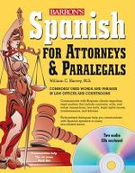 Spanish for Attorneys and Paralegals - William Harvey