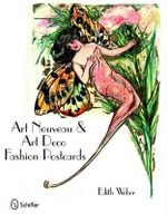 Art Nouveau and Art Deco Fashion Postcards - Edith Weber