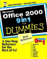Microsoft Office 2000 9 in 1 For Dummies Desk Reference - Greg Harvey