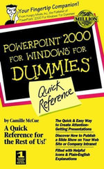 PowerPoint 2000 For Windows For Dummies : Quick Reference :  Quick Reference - Camille McCue