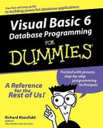 Visual Basic 6 Database Programming For Dummies - Richard Mansfield