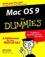 MacOS 9 For Dummies - Bob LeVitus