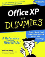 Office XP For Dummies  - Wallace Wang