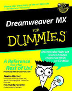Dreamweaver MX For Dummies - Janine Warner