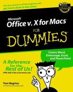Microsoft Office V.10 For Macs For Dummies - Tom Negrino