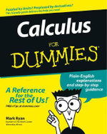 Calculus For Dummies - Mark Ryan