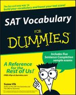 SAT Vocabulary For Dummies - Suzee J. Vlk