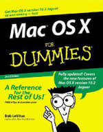 Mac OS X for Dummies - Bob LeVitus