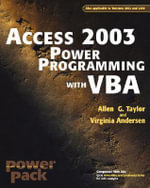Access Power Programming with VBA - Allen G. Taylor