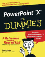 PowerPoint 2003 For Dummies : For Dummies (Lifestyles Paperback) - Doug Lowe