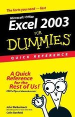 Excel 2003 For Dummies : Quick Reference :  Quick Reference - John Walkenbach