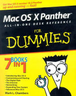 Mac OS X Panther All-In-One Desk Reference For Dummies : 5th Edition - Mark L. Chambers