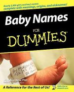 Baby Names For Dummies - Margaret Rose