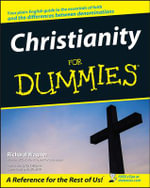 Christianity For Dummies : For Dummies (Lifestyles Paperback) - Richard Wagner