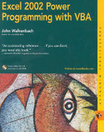 Excel 2002 Power Programming with VBA : Bible - John Walkenbach