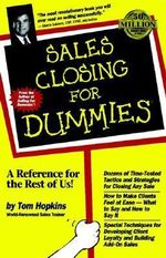 Sales Closing For Dummies - Tom Hopkins