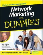 Network Marketing For Dummies - Zig Ziglar