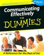Communicating Effectively For Dummies - Marty Brounstein