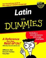 Latin For Dummies : For dummies - Clfford A. Hull