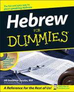 Hebrew For Dummies With CD (Audio) - J.S. Jacobs