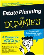 Estate Planning For Dummies - N. Brian Caverly