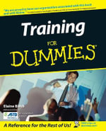 Training For Dummies - Elaine Biech