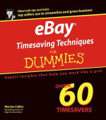 eBay Timesaving Techniques For Dummies : For Dummies (Lifestyles Paperback) - Marsha Collier
