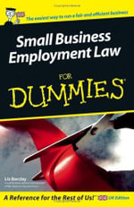 Small Business Employment Law for Dummies - L. Barclay