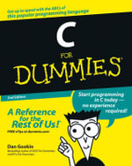 C For Dummies, 2nd Edition - Dan Gookin