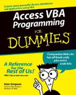 Access VBA Programming For Dummies - Alan Simpson
